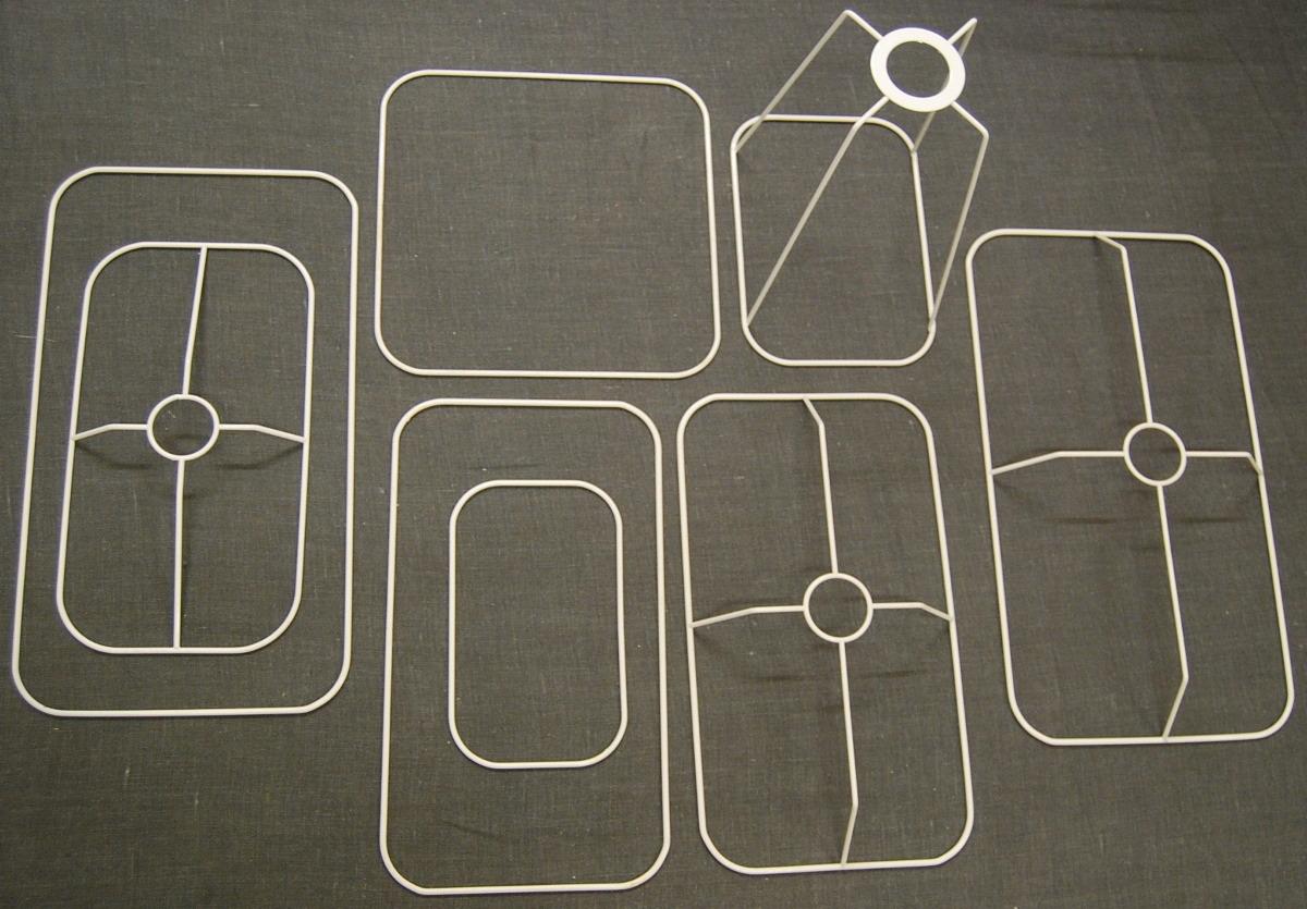 C - Drahtringe mit runden Ecken
