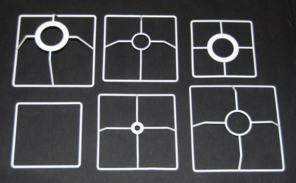 Drahtringe quadratisch