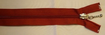 55 cm lang, rot