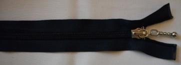 65 cm lang, dunkelblau