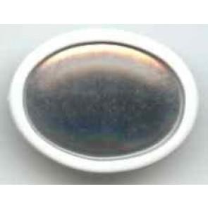 Seidenmalbrosche oval 34 x 24 mm.