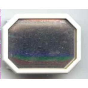 Seidenmalbrosche Achteck 30 x 24 mm. Rah