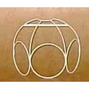 Ringkuppel-Wandblende