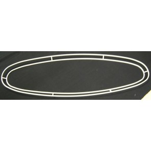 EL900x280+EL850x230 2cm versenkt weiß