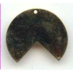 Metallscheibe mit Segmentausschnitt