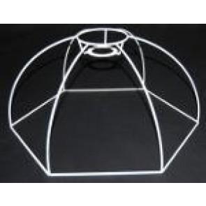 Drahtform Kuppel 6-Eck 40 cm D.. F 3V