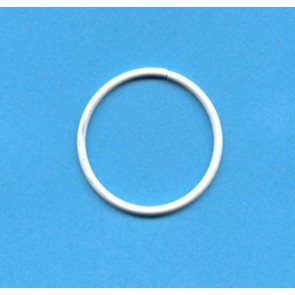 Drahtring R 80x2.8 mm. weiß