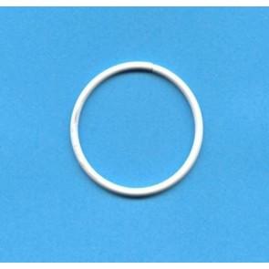 Drahtring R 90x2.8 mm. weiß