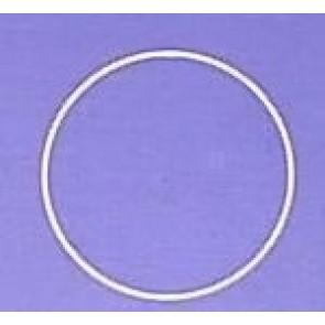 Drahtring R150x3.1 mm. weiß