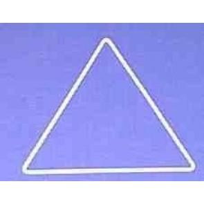 Dreieck s=16cm weiß