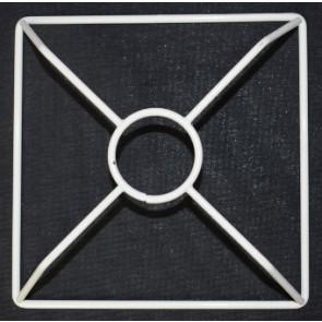 4R 120x120 mm F E14 3 cm versenkt