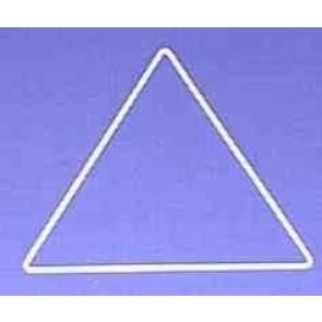 Dreieck s=17,3cm weiß