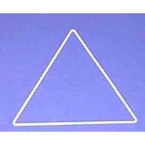 Dreieck s=18cm weiß