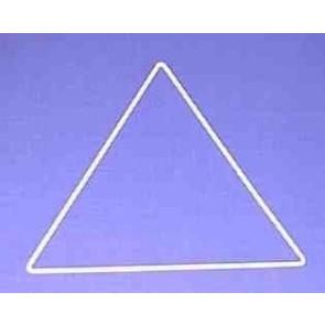 Dreieck s=23cm weiß