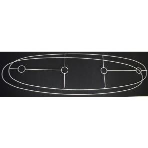 Ringgarnitur EL1200x310+4F3VW elliptisch