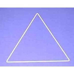 Dreieck s=24cm weiß