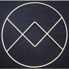 3-Eck + 4-ECK + 3-Eck in einem Kreis