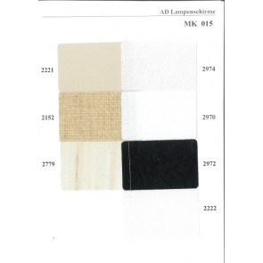 Musterkarte harte LS-Materialien