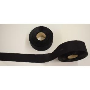 Seidenband 000 schwarz, 4 cm breit