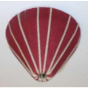 Baldachin textilumw., Farbe 44 rot/beige
