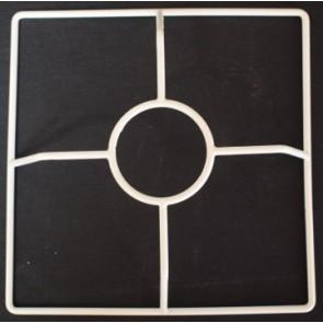 4R 150x150 mm + F E27 4V weiß