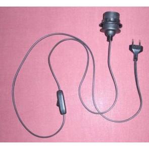 3128.0 Stehlampen-Zuleitung schwarz