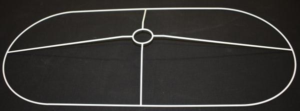 OV-DIV diverse ovale Drahtringe