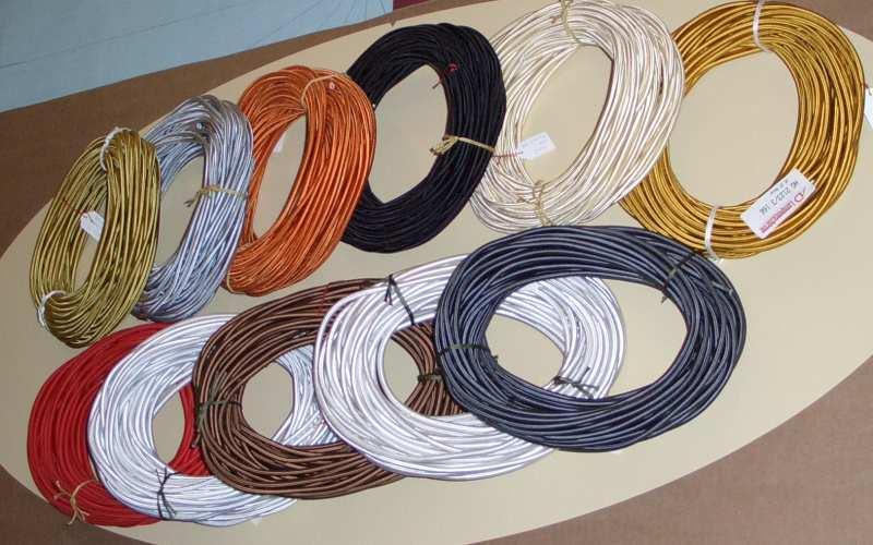 Textilkabel 3x0,75 rund
