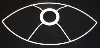 Drahtringe spitz-oval