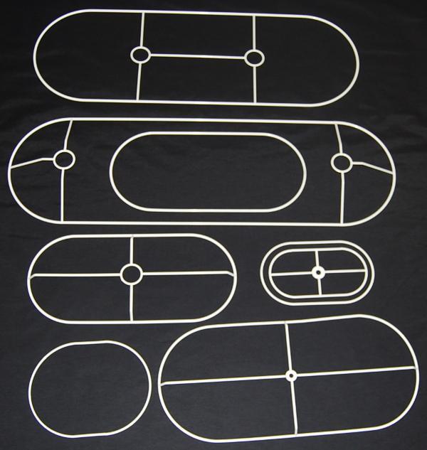 Drahtringe oval