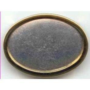 Seidenmalbrosche oval 50 x 35 mm