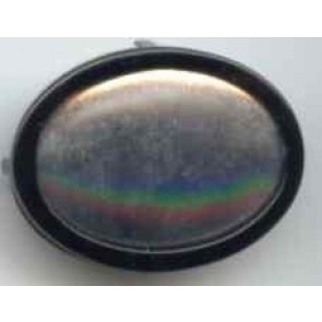 Seidenmalbrosche oval 34 x 24 mm
