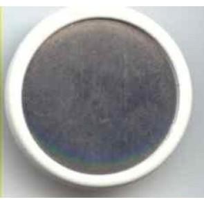 Sedenmalbrosche rund 35 mm D..