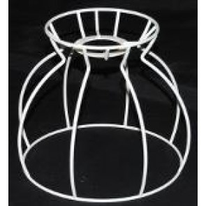 DF Kuppel 18 cm Ø F-E27, weiß