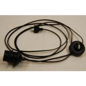 3126.0 Stehlampen-Zuleitung schwarz