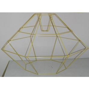 Drahtform ANA ØxH 100x62cm, gold