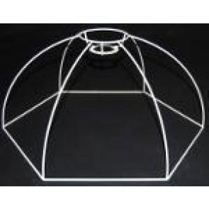 Drahtform Kuppel 6-Eck 45 cm D.. F 3V