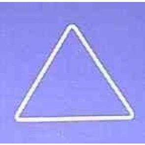 Dreieck s=12cm weiß