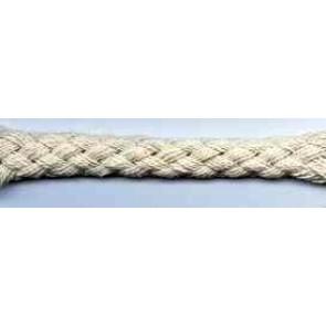 Hohlgeflecht Baumwolle natur