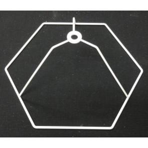 Sechseckring 25 cm D. N 10 cm versenkt