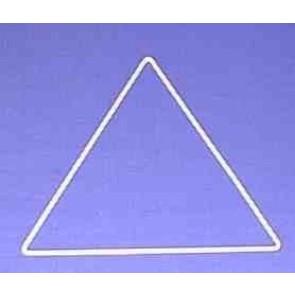 Dreieck s = 20 cm. weiß