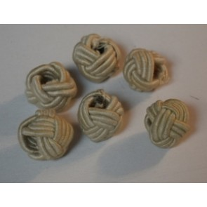 Knoten beige außen Ø 30 mm,