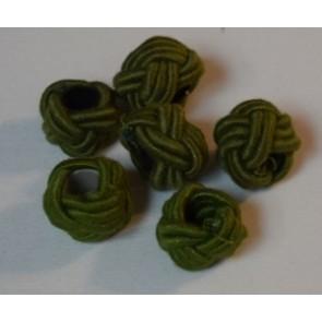 Knoten grün außen Ø 30 mm,