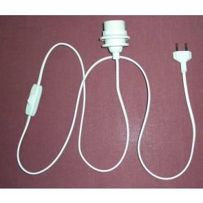 3128.1 Stehlampen-Zuleitung weiß