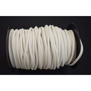 KA21659/2.01  Textilkabel rund 2x0,75 weiß